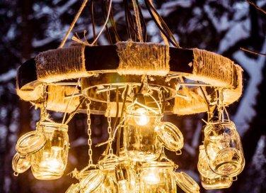 Lampadario Filo Di Ferro Fai Da Te : Lampadari fai da te semplici: 3 idee donnad