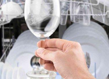 come avere bicchieri brillanti in lavastoviglie