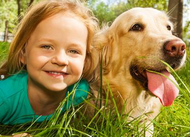Avere un animale in casa: tutti i benefici per i nostri figli