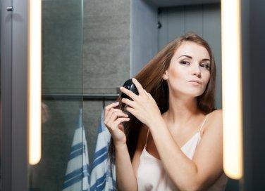 spazzola per capelli lisciante