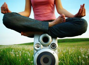 yoga, meditazione, musica