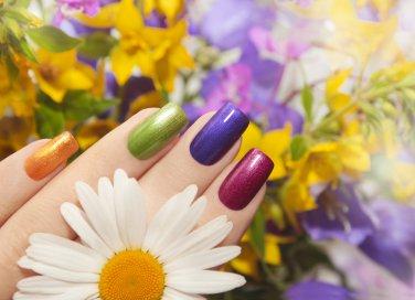 nail art, trucco, primavera 2017
