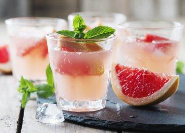 cocktail ricette, pompelmo, honey paloma