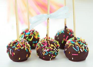 cake pops, ricette dolci, cioccolato