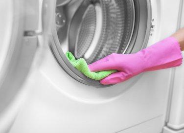 pulizie, lavatrice, muffa