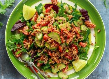 Tabulè di pesce e verdure, la ricetta completa per prepararlo