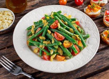 fagiolini bolliti, insalata, ricette estive