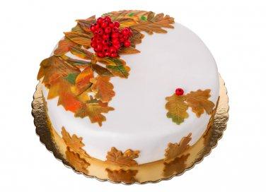 torte autunno pasta zucchero, cake design autunno
