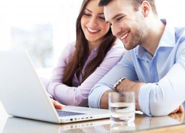 coppie che lavorano insieme, lavorare partner