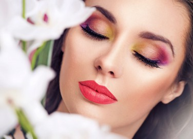 primer viso, trucco, make-up donna