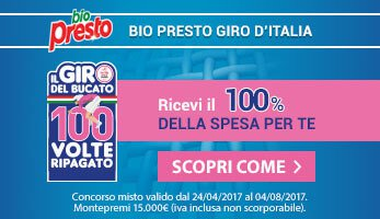 Concorso Bio Presto - Giro d'Italia