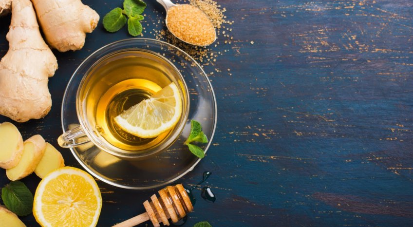 Infuso di zenzero e miele, la ricetta contro i malanni di stagione