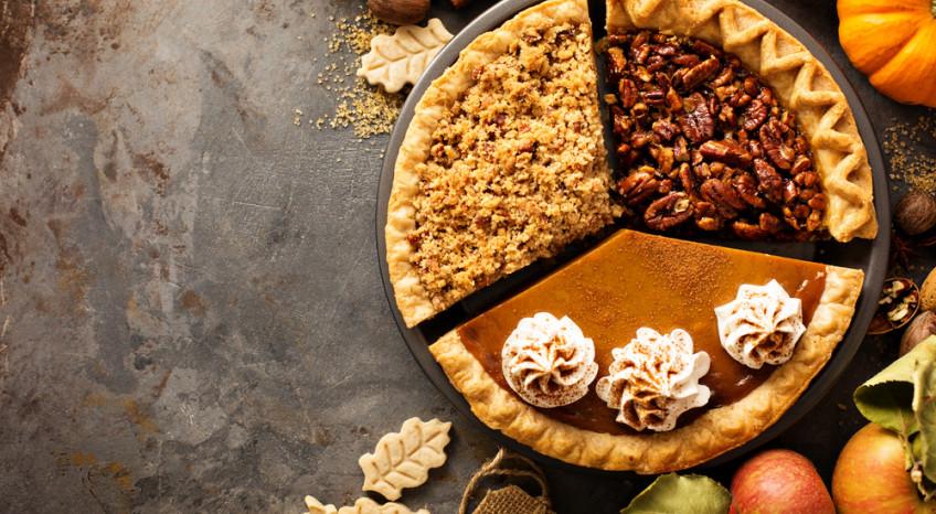 torte autunnali decorate con panna, torte autunno decorate con panna