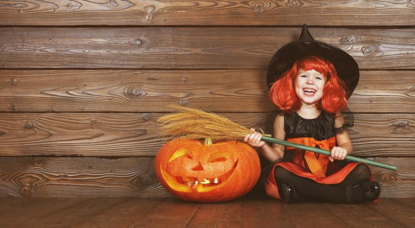 trucco, strega, halloween