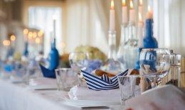 party di fine estate, decorazione tavola, eventi