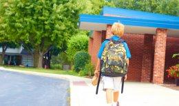 a scuola da soli