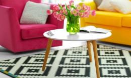 arredamento, interior design, colori caldi