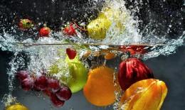 come lavare, frutta, bicarbonato sodio