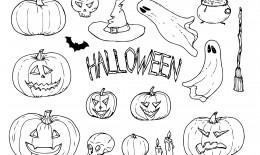 immagini halloween da colorare, disegni halloween, immagini halloween
