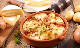 tartiflette, formaggio, patate