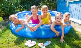 piscina gonfiabile bimbi