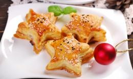antipasti di Natale, pasta sfoglia, ricette