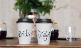 matrimonio, tema, caffè