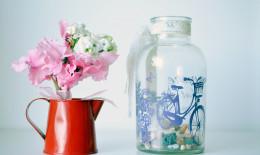 come riempire vaso vetro trasparente, riempire vaso vetro