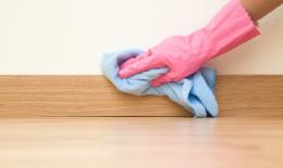 come pulire i battiscopa, pulizia battiscopa