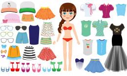 bambole di carta da stampare e vestire, bambole di carta da stampare
