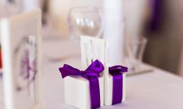 Regali per i testimoni di nozze