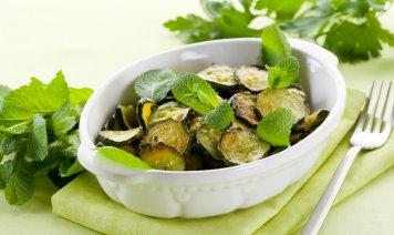concia, zucchine, cucina ebraico romanesca