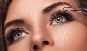 ciglia finte, video tutorial, bellezza