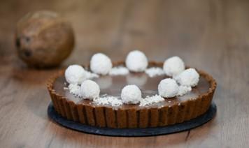 torta tartufina ricetta, cocco, cioccolato