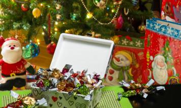 scatoline natalizie fai da te, scatoline natalizie decoupage, scatoline natale fai da te