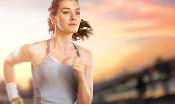Acconciatura da donna per fare sport
