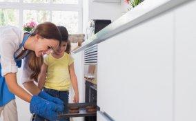 Forno elettrodomestico cucina microonde incrostazione