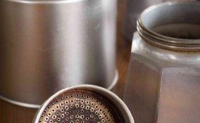 come pulire l'alluminio della caffettiera