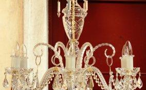 come pulire lampadario gocce cristallo