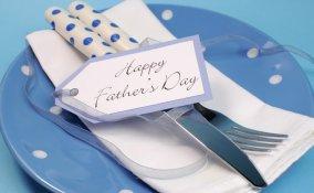 decorazione tavola, festa papà, 19 marzo