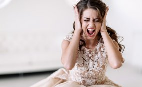 sposa, matrimonio, bridezilla