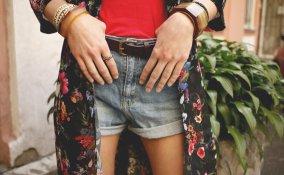 look giorno, shorts, come indossare