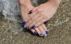 nail art, estate 2017, mare