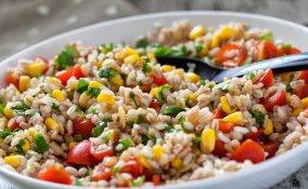 insalata riso, farro, ricette estive