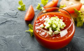 gazpacho, zuppa fredda, ricette verdure