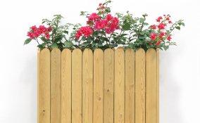come costruire fioriera in legno, fioriera fai da te