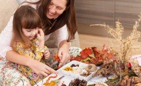 lavoretti autunnali bambini, lavoretti autunno