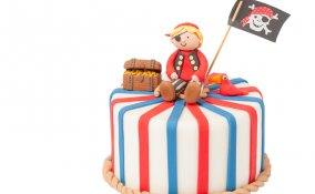 torta pirati pasta di zucchero, torta pirati