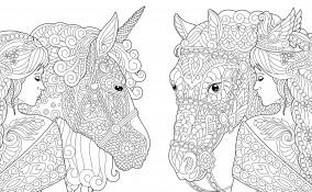 disegni antistress da colorare, disegni antistress adulti