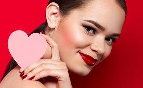 san valentino, make-up, tutorial trucco